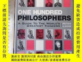 二手書博民逛書店One罕見hundred philosophers a guid