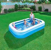 寶寶小孩幼兒童充氣嬰兒游泳池家用加厚桶