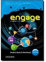 二手書《Engage: Second Edition Starter Student Book/Workbook Pack with MultiROM》 R2Y ISBN:9780194537940