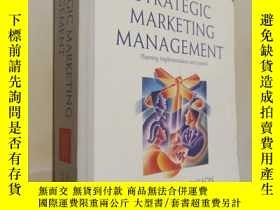 二手書博民逛書店.Strategic罕見Marketing Management