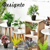 新年大促北歐創意家居飾品仿真綠植擺件室內辦公客餐廳裝飾花植物盆景盆栽 森活雜貨