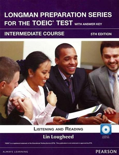 (二手書)Longman Preparation Series for the TOEIC Test: Intermediate Cour..