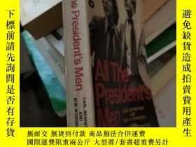 二手書博民逛書店All罕見The President s MenY171502