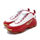 【六折特賣】Reebok Iverson Legacy ANSWER 1 白 紅 金 艾佛森 籃球鞋 男鞋 運動鞋【PUMP306】 CN8406
