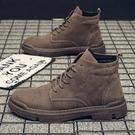 男鞋潮鞋秋季年新款馬丁靴男士韓版百搭復古英倫風潮流短靴子