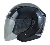 【東門城】M2R J-5 素色 黑 3/4罩安全帽