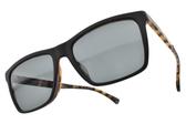 EMPORIO ARMANI 太陽眼鏡 EA4117F 5701-87  (黑琥珀-藍鏡片) 潮流教主方框款  # 金橘眼鏡