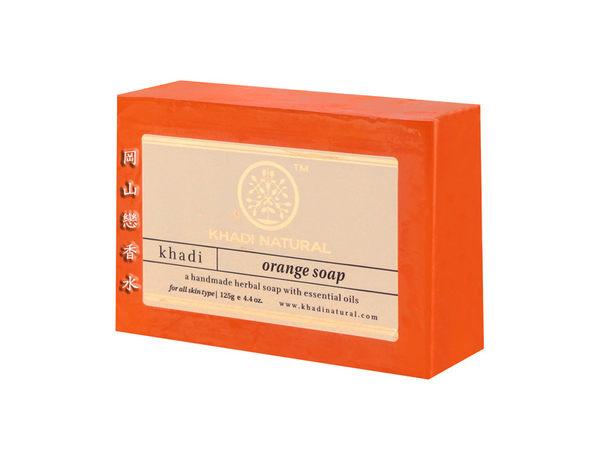 岡山戀香水~印度 Khadi 草本香橙手工精油香皂125g~優惠價:65元