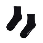WARX除臭襪 經典素色中筒襪-黑色