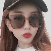 墨鏡 GM墨鏡女防紫外線眼鏡2021新款街拍太陽鏡男士圓臉ins韓版網紅 風尚