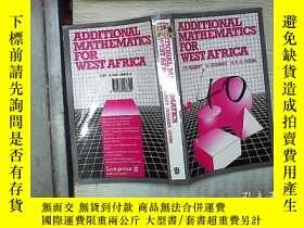 二手書博民逛書店ADDITIONAL罕見MATHEMATICS FOR WEST