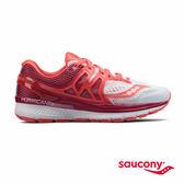 SAUCONY HURRICANE ISO 3 專業訓練鞋款-白x莓果紅