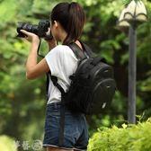 攝影包 致泰相機包雙肩數碼佳能單反攝影雙肩包男女背包輕便戶外防盜防水 夢藝家