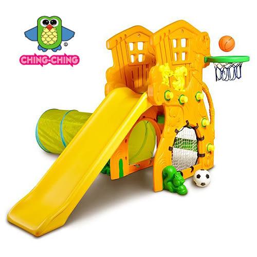 親親 樹屋溜滑梯+足球+隧道