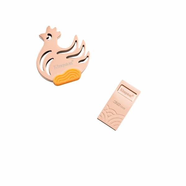 金士頓 KingSton USB3.1 32GB 金雞隨身碟禮盒 2017 丁酉年 限定【生肖/限量/USB/金屬/32G/Buy3C奇展】