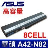 8CELL 華碩 ASUS A42-N82 原廠規格 電池 A40 A40E A40J A40JA A40JE A40JP N82 N82E N82EI N82J N82JG N82JQ N82JV B33E B53 B53E