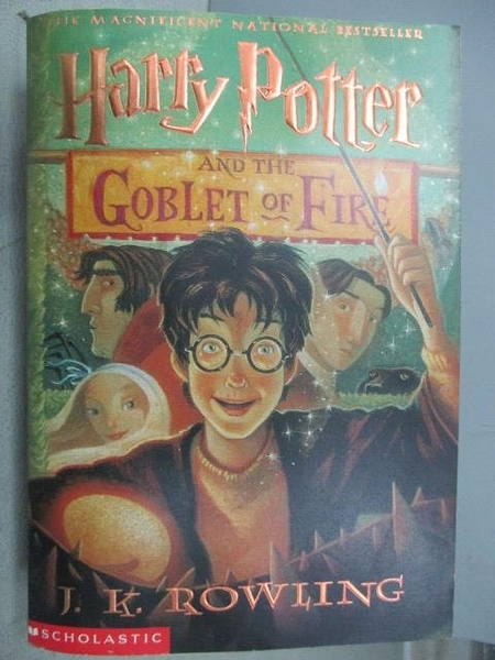 【書寶二手書T3/原文小說_MNN】Harry Potter and the Goblet of Fire