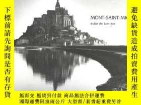 二手書博民逛書店Mont-Saint-Michel:罕見Echo De Lumi