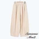 「Summer」鬆緊腰氣球剪裁單寧寬褲 (提醒 SM2僅單一尺寸) - Sm2