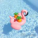 紅鶴 白天鵝 水上杯座 水上小吧檯 充氣 玩具 造型泳圈 拍照小物 直播道具