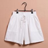 兒童短褲  女童短褲夏季韓版中大童褲子薄款兒童夏裝棉麻熱褲焱  莎瓦迪卡