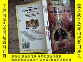 二手書博民逛書店THE罕見TIME MACHINE H.G.WellsY2064