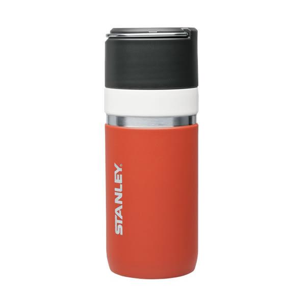 [Stanley] GO陶瓷烤漆真空保溫瓶 0.47L 鮭魚紅 (1003107-006)