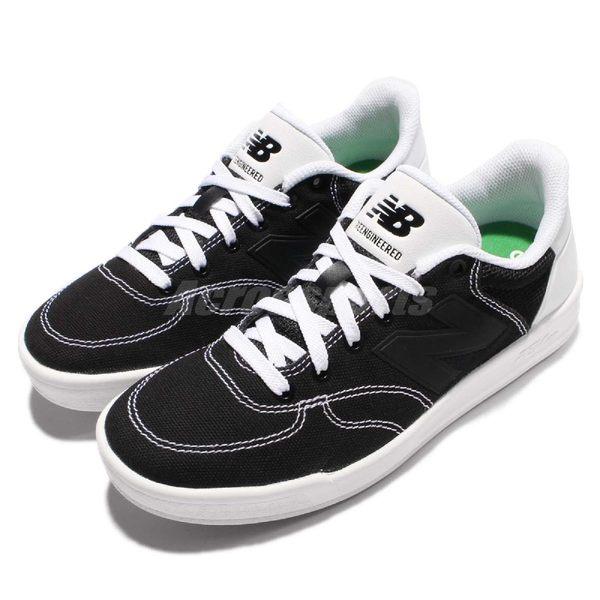 New Balance 休閒鞋 CRT300 N字鞋 黑 白 低筒 平底鞋 黑白 殺人鯨配色 男鞋 女鞋【PUMP306】 CRT300RND