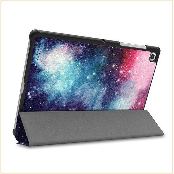 彩繪卡斯特 三星 Galaxy Tab S5e 10.5 T720 T725 平板皮套 智能休眠 防摔 支架 自動吸附 超薄三折 保護套