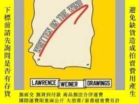 二手書博民逛書店Written罕見on the WindY405706 Lawrence Weiner ISBN:97838