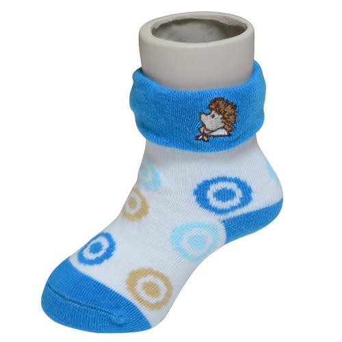 『121婦嬰用品館』狐狸村傳奇 威利繡花短筒襪7-9cm