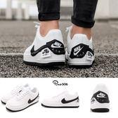 Nike Wmns Air Force 1 Jester XX 白 黑 不規則設計 拼貼 厚底 女鞋 休閒鞋 【PUMP306】 AO1220-102