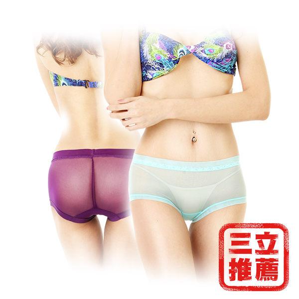 冰絲薄透蕾絲褲(8件/組)(FREE SIZE 22~34吋)-電電購