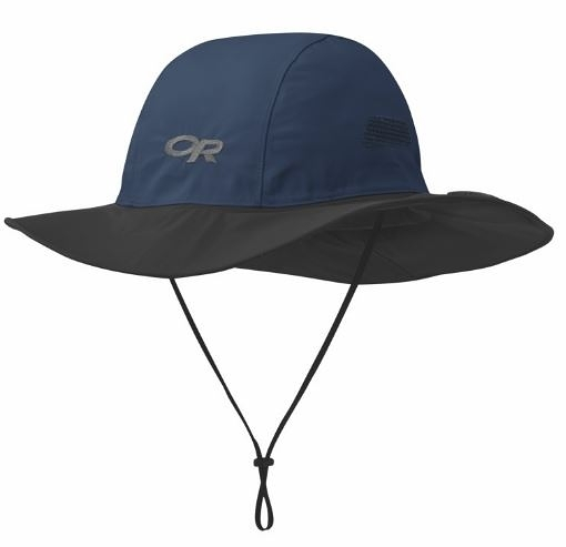 [好也戶外]Outdoor Research OR防水透氣GTX大盤帽/深藍灰 No.243505-0289