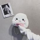 毛毛包女2019秋冬新款時尚百搭可愛斜跨學生單肩包?條包零錢包【免運85折】