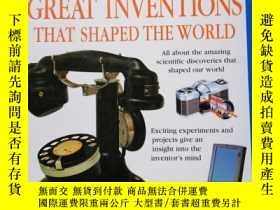 二手書博民逛書店GREAT罕見INVENTIONS THAT SHAPED TH