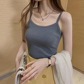小吊带背心女外穿春夏2021新款性感无袖上衣修身显瘦内搭打底衫潮