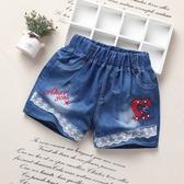 兒童牛仔短褲女童夏季新款外穿熱褲小學生中大童韓版百搭褲子