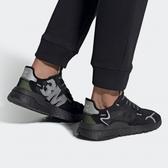 【現貨折後$2880】adidas ORIGINALS NITE JOGGER 男鞋 慢跑 休閒 反光 3M 全黑 EE5884