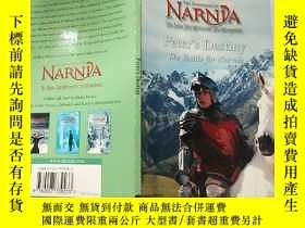 二手書博民逛書店Narnia罕見Peter s destiny the battle for Narnia: 納尼亞彼得的命運納