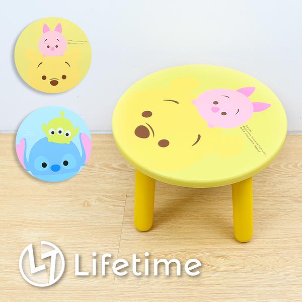 ﹝迪士尼TSUM圓型木矮凳椅﹞正版 凳椅 換鞋凳 矮凳 椅子 小凳椅 迪士尼〖LifeTime一生流行館〗