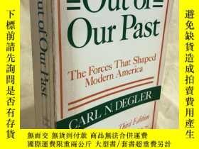 二手書博民逛書店Out罕見of Our Past The Forces That Shaped Modern AmericaY