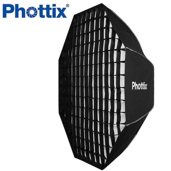 ◎相機專家◎ Phottix 新式二合一 帶網格柔光箱 八角罩 122cm 輕量無影罩 蜂巢 柔光罩 公司貨 82616