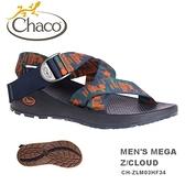 【速捷戶外】美國Chaco MEGA Z CLOUD 越野紓壓運動涼鞋 男款CH-ZLM03HF34 -標準(缺陷海軍藍)