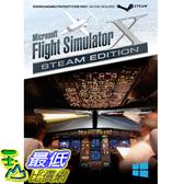 [104美國直購] 微軟飛行模擬器 Microsoft Flight Simulator X: Steam Edition for PC - Windows (select)
