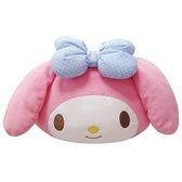 【享夢城堡】美樂蒂 MY MELODY系列-頭型抱枕