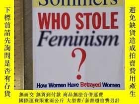 二手書博民逛書店Who罕見stole feminism introducing feminism history of femin
