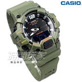 CASIO卡西歐 HDC-700-3A2 經典再現10年電力雙顯電子錶 深綠 男錶 橡膠錶帶 防水手錶 HDC-700-3A2VDF