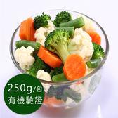 歐盟有機認證-急凍蔬菜-綜合時蔬250g/包