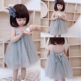 女寶寶周歲禮服生日公主裙夏裝一歲嬰兒純棉小裙子女童網紗洋裝幸福第一站